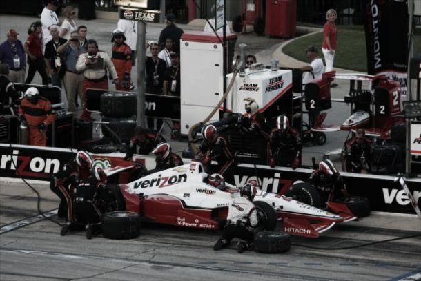 Juan Pablo Montoya, cuarto en Texas y aún líder de la Indycar