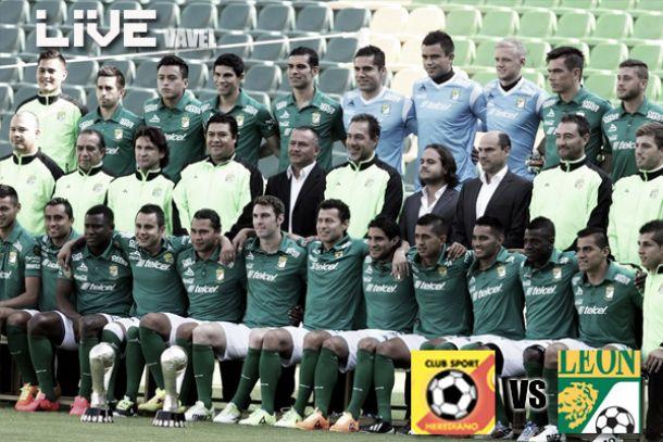 Resultado León - Herediano en Concachampions 2014 (1-1)