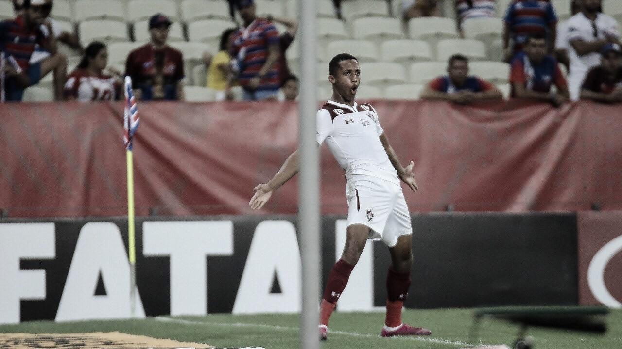 Muriel salva, e Fluminense derrota Fortaleza com gol de João Pedro