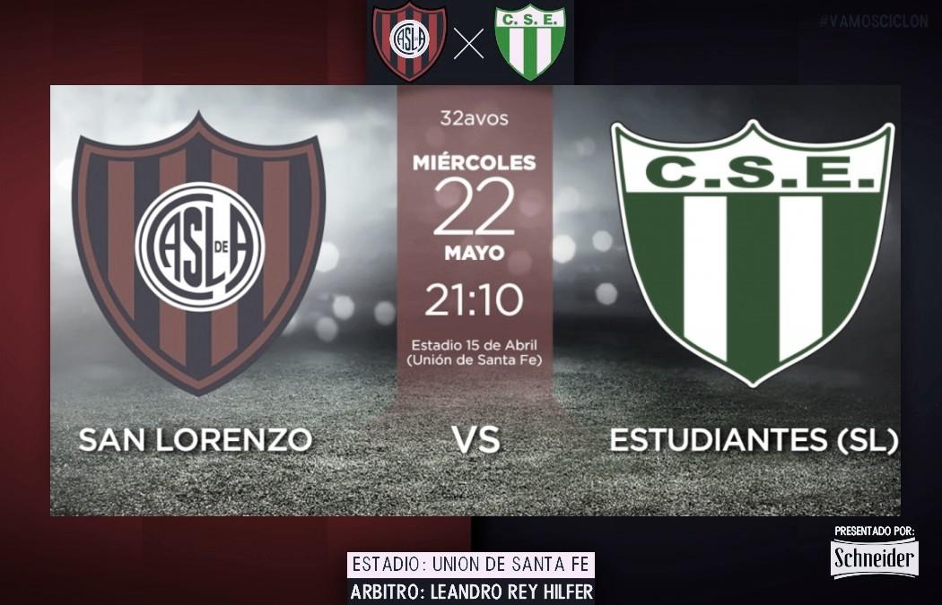 Previa San Lorenzo vs Estudiantes de San Luis: quieren seguir a paso firme
