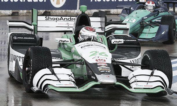 Carlos Muñoz se quedó con la primera carrera de Detroit