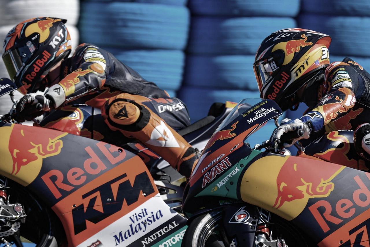 Moto3 aterriza en Barcelona con dos españoles a la cabeza
