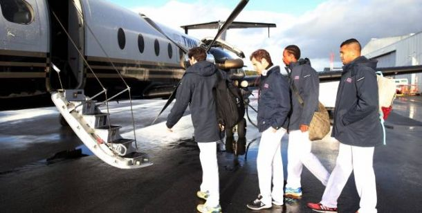 Coupe Davis : Les Bleus bien arrivés à Lille