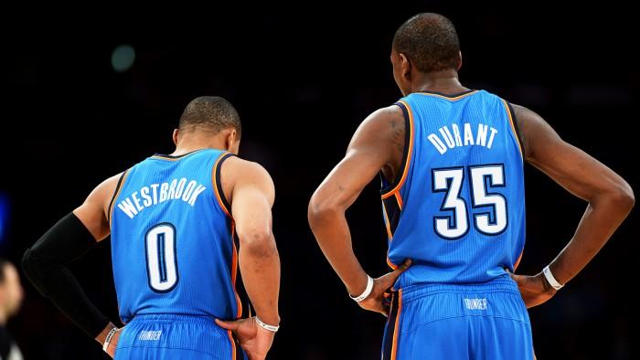 NBA, Durant e Westbrook danno spettacolo: OKC annienta Minnesota