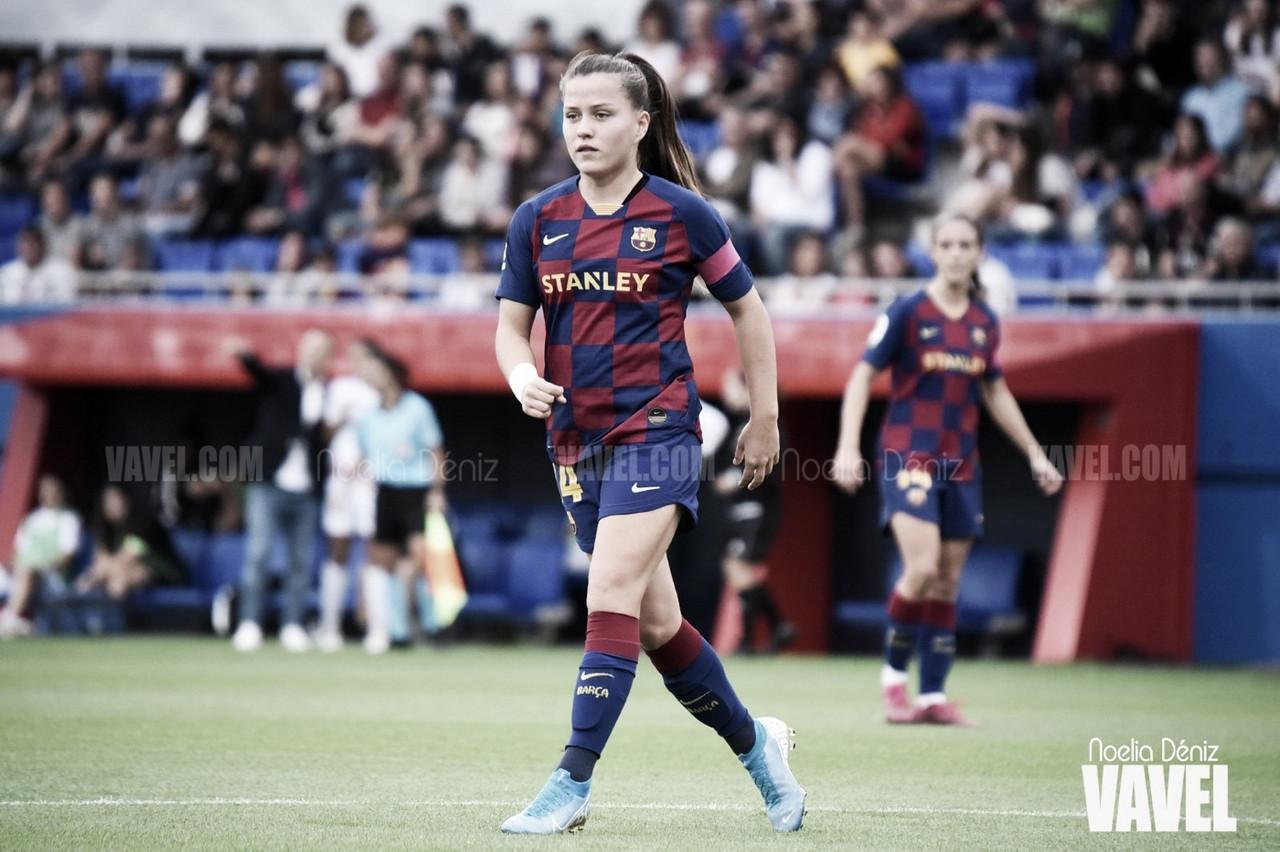 Claudia Pina renueva con el Fútbol Club Barcelona hasta 2023