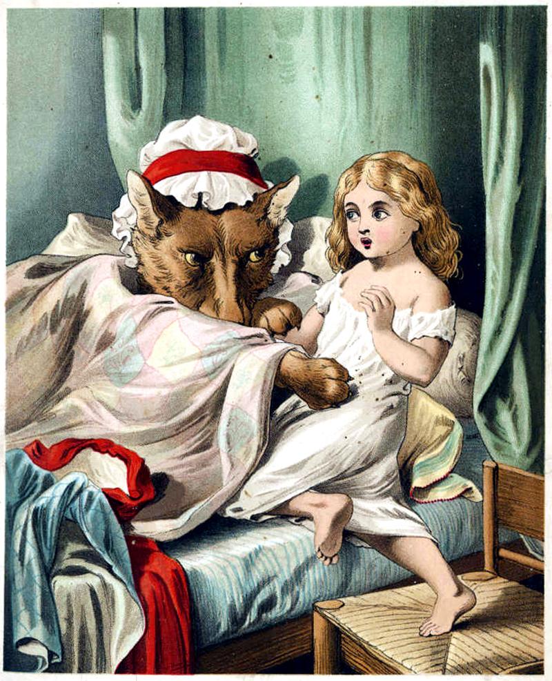 Caperucita Roja pierde la inocencia