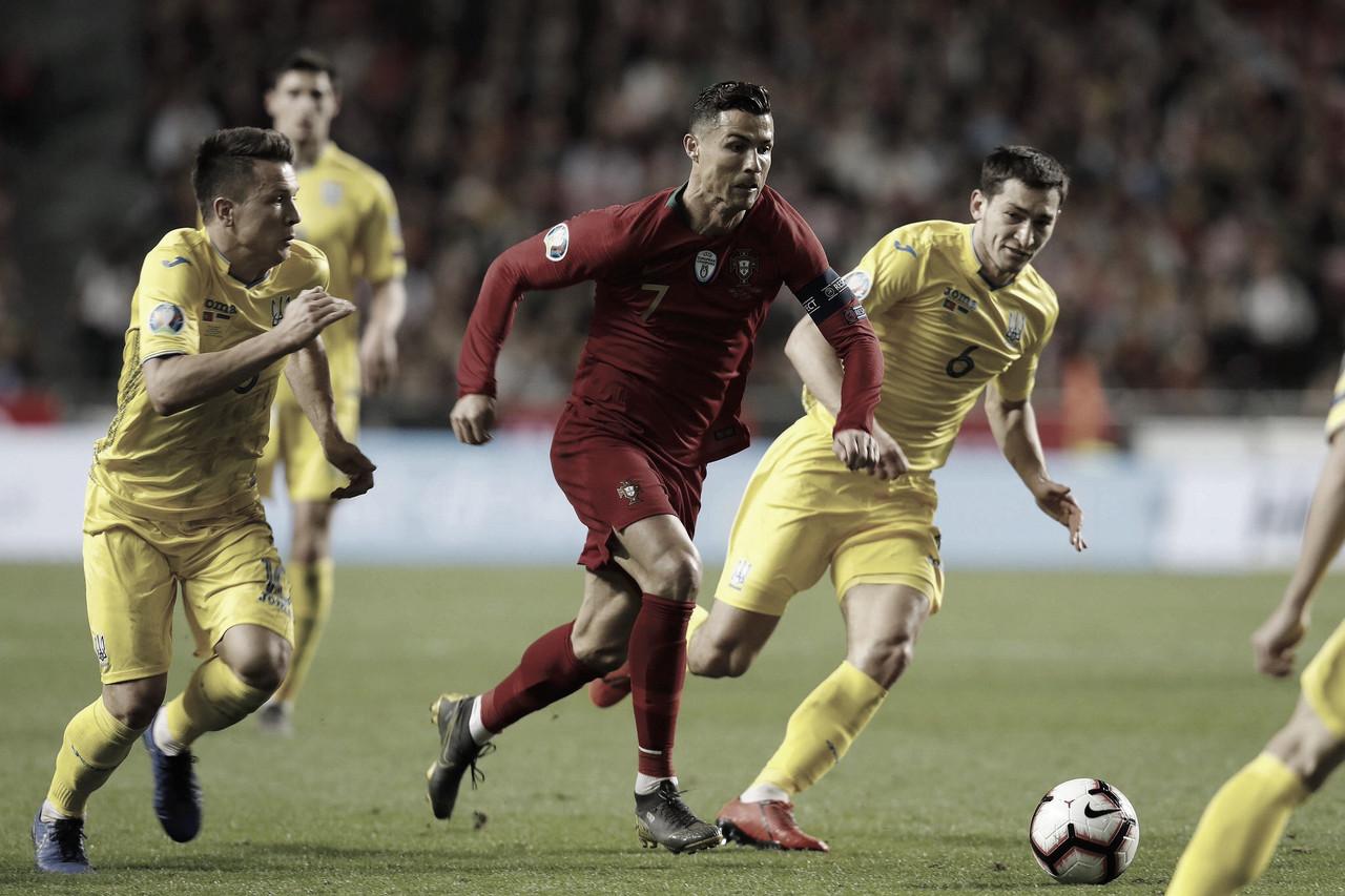 Portugal fica no empate sem gols com Ucrânia nas Eliminatórias da Euro2020