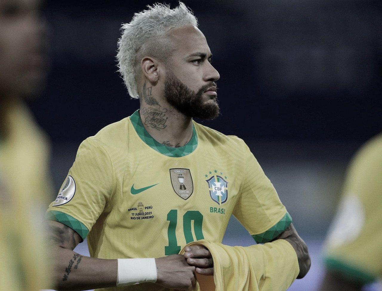 Neymar, el más destacado en la victoria de Brasil ante Perú