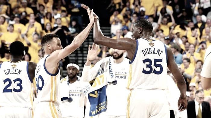 Durant renuncia a ser capitán en el All-Star: vía libre para Curry
