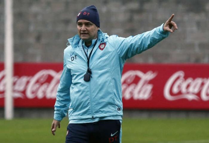 "Aguirre: ""Me encontré con un plantel muy profesional"""