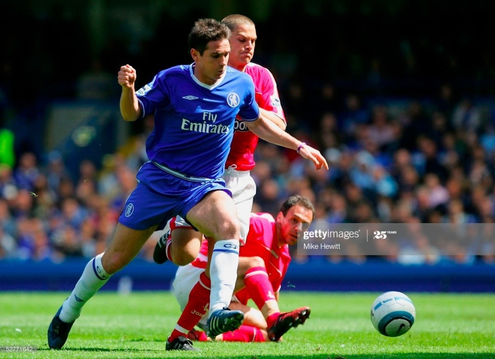 Frank Lampard looks back on his early years at Chelsea - and how he could have improved