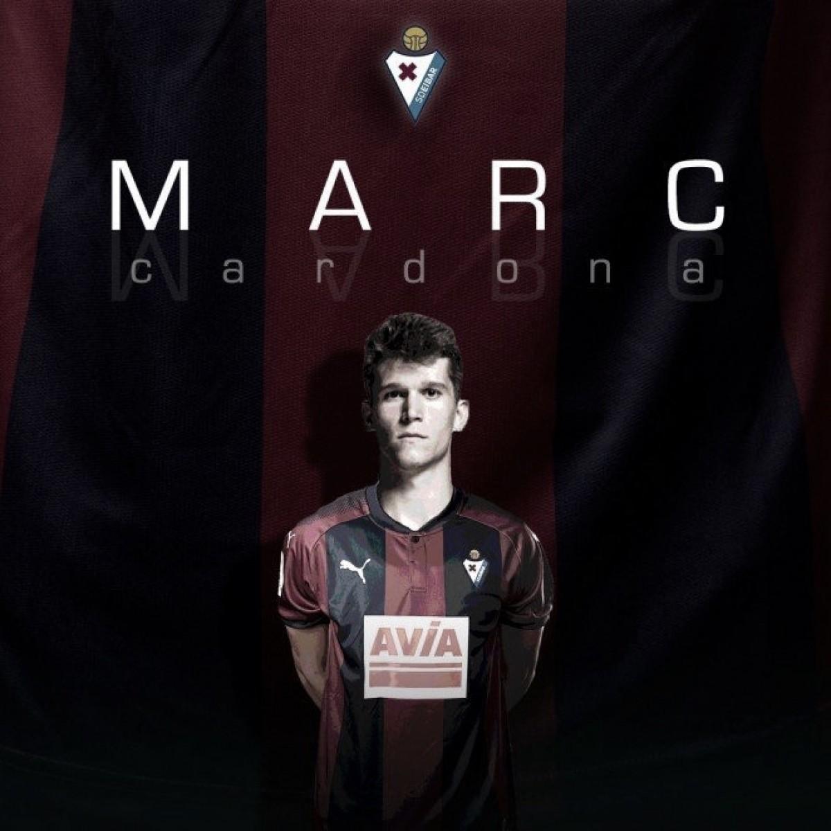 Atacante Marc Cardona chega ao Eibar emprestado pelo Barcelona