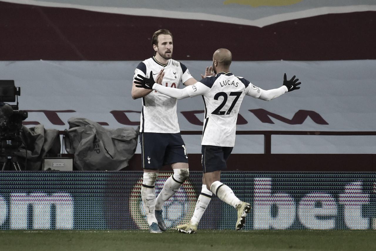 El Tottenham muestra señales de recuperación ante el Aston Villa