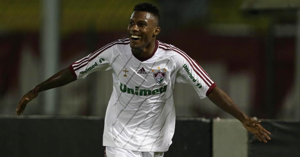 Rhayner marca, Fluminense vence o Resende e elimina o Flamengo do Carioca