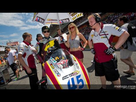 Gros plan sur Marc VDS Racing Team
