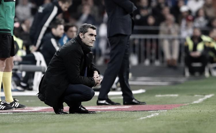 """Mesmo com vitória do Barça no El Clásico, Valverde afirma: """"Poderíamos ter jogado melhor"""""""