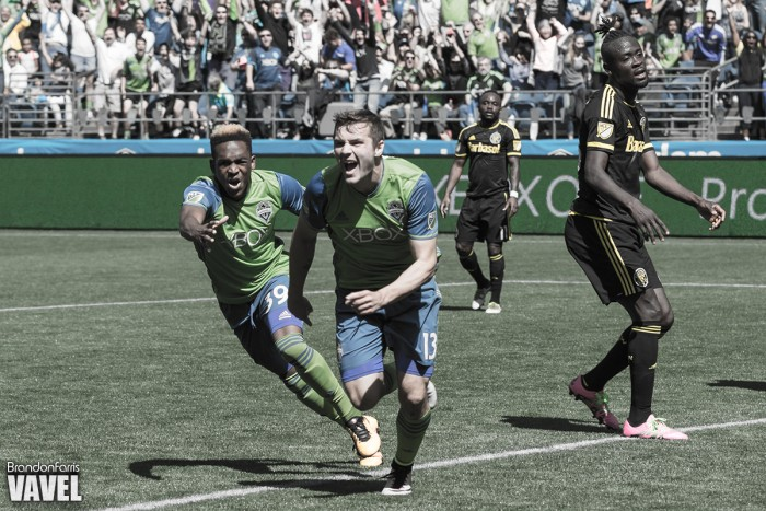 Late Jordan Morris goal gives Seattle Sounders 1-0 victory over Columbus Crew SC