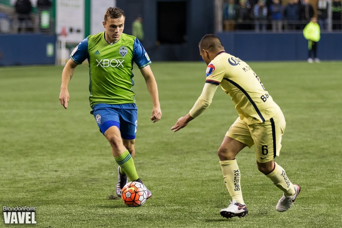 CONCACAF Champions League: Seattle Sounders, Club America Battle To 2-2 Draw In First Leg