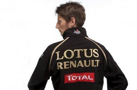 Romain Grosjean titulaire chez Lotus
