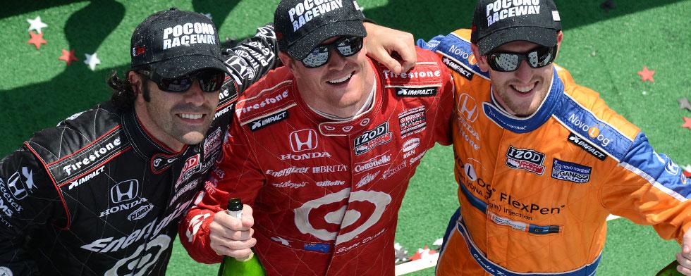 IndyCar - Pocono : Dixon et Ganassi triomphent