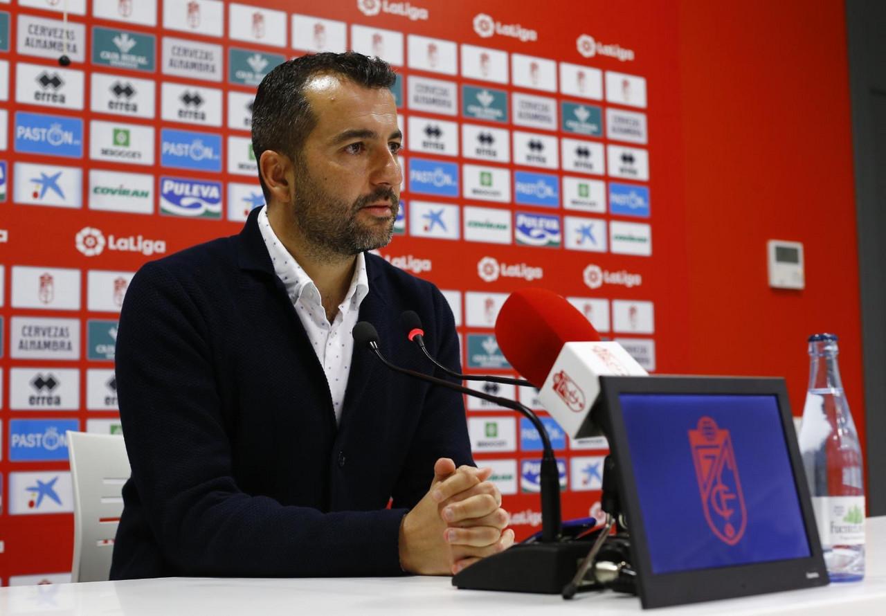 """Diego Martínez: """"Creo que el partido es importante, pero no definitivo"""""""