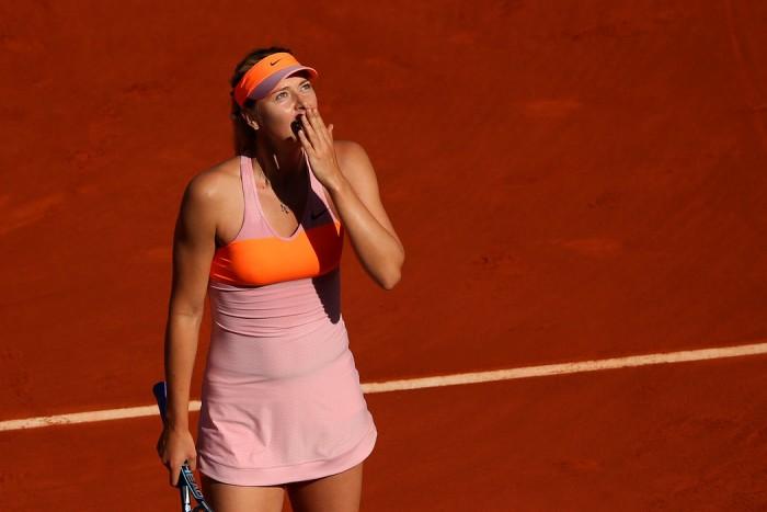 Claypova: qual será o efeito da ausência de Maria Sharapova em Roland Garros?