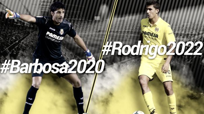 El Villarreal renueva a Rodri y Barbosa