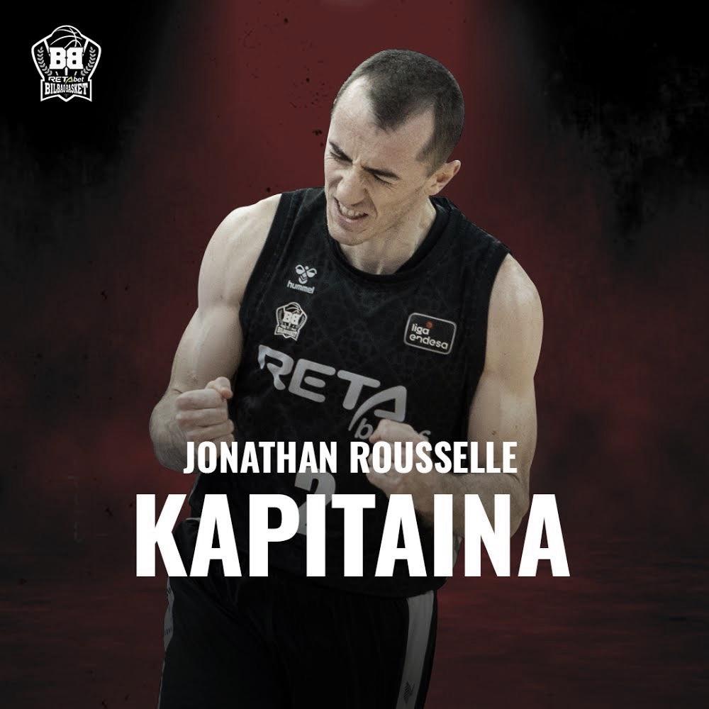 RETAbet Bilbao Basket: Rousselle y Balvin, nombrados capitán y co-capitán respectivamente