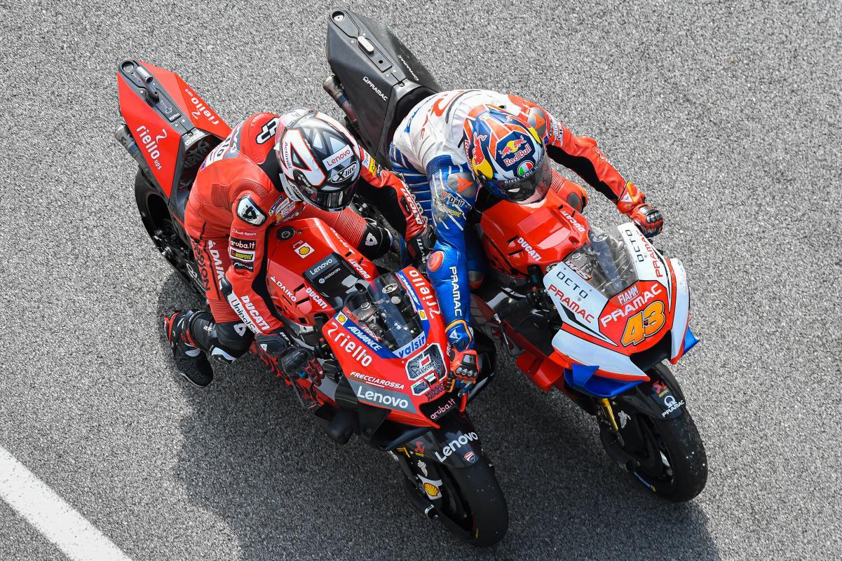 Jack Miller podría pilotar la Ducati oficial en 2021