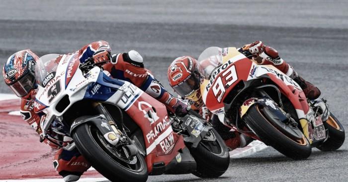 """MotoGP, Petrucci: """"Marquez è il favorito"""""""