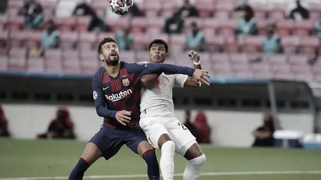 Resumen Barcelona vs Bayern Múnich en Champions League 2021 (0-3)