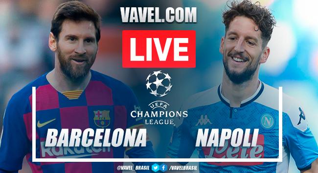 Resumen FC Barcelona 3-1 SSC Napoli en la UEFA Champions League 2019/20