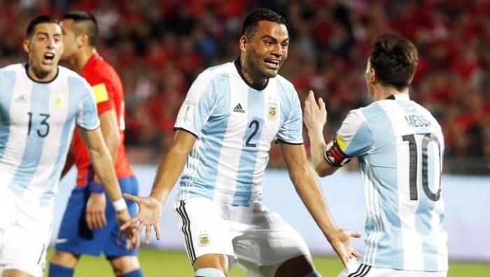 Verso Russia 2018, colpaccio dell'Argentina in terra cilena: 1-2