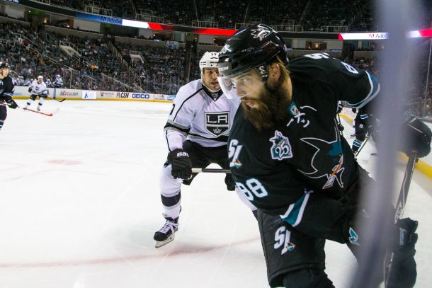 San Jose Sharks Defenseman Brent Burns Lost Without His Sam (Paul Martin)