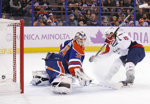 Washington Capitals Sink Edmonton Oilers In A Scoring Frenzy