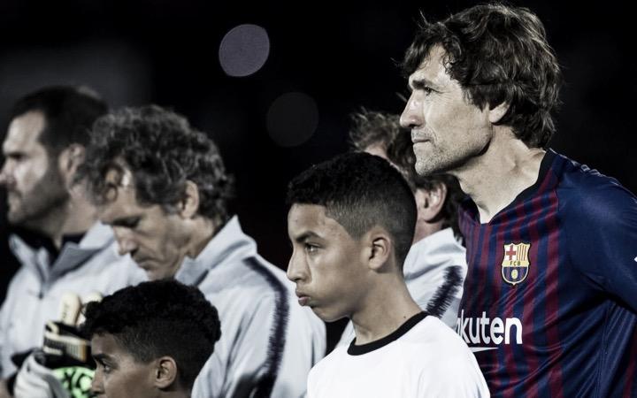 Los Barça Legends empatan en Marruecos