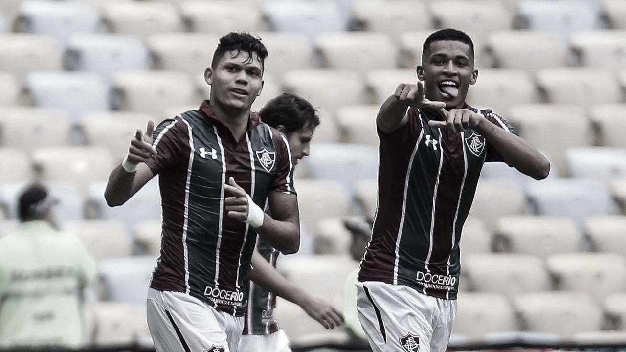 Fluminense leva susto, mas goleia Madureira no Maracanã