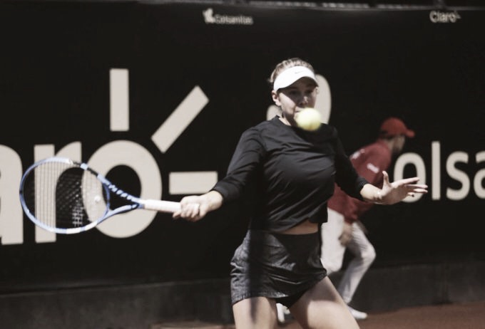 Anisimova vira contra Bia Haddad e vai à final em Bogotá