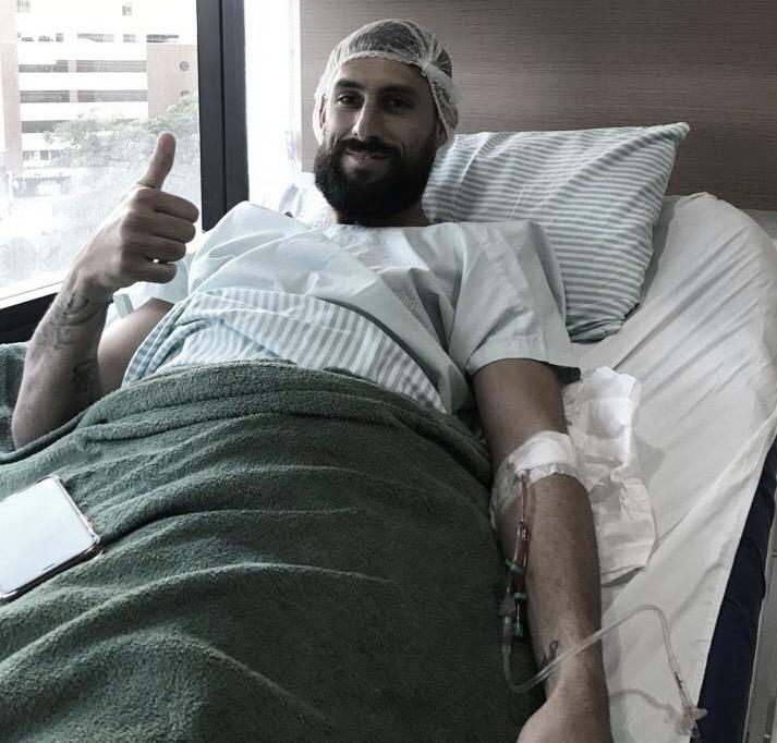 Martín Rodríguez inicia processo recuperatório e espera voltar aos gramados no segundo semestre