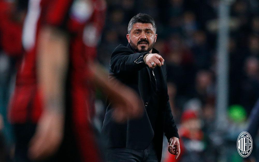 Milan, fattore Gattuso: solo Allegriha fatto più punti di lui nel 2018