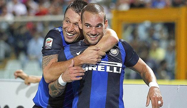 El nuevo Inter arranca con fuerza en Pescara