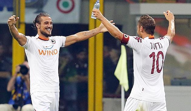 Totti le baja los humos al Inter