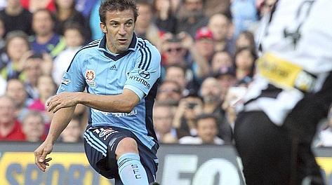 Del Piero, gol e sconfitta nella prima casalinga del Sydney
