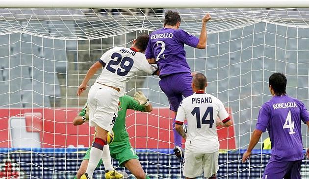 La Fiorentina golea en casa