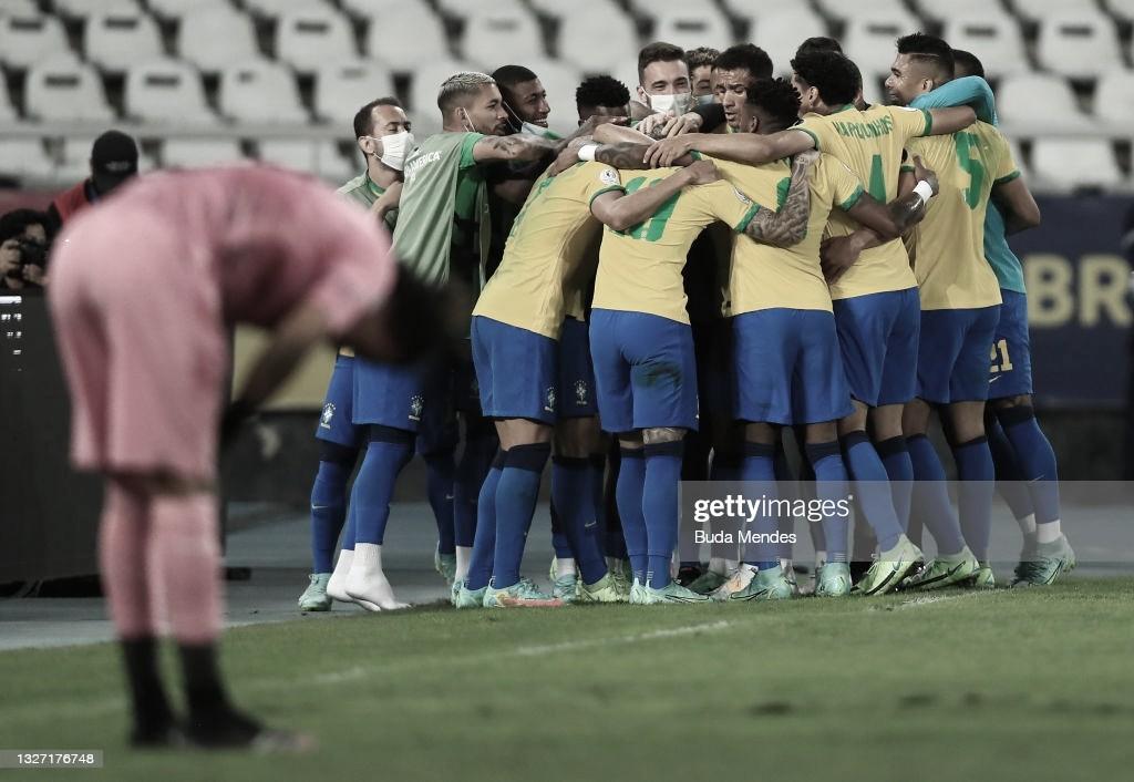 Brasil venció a Perú y es finalista