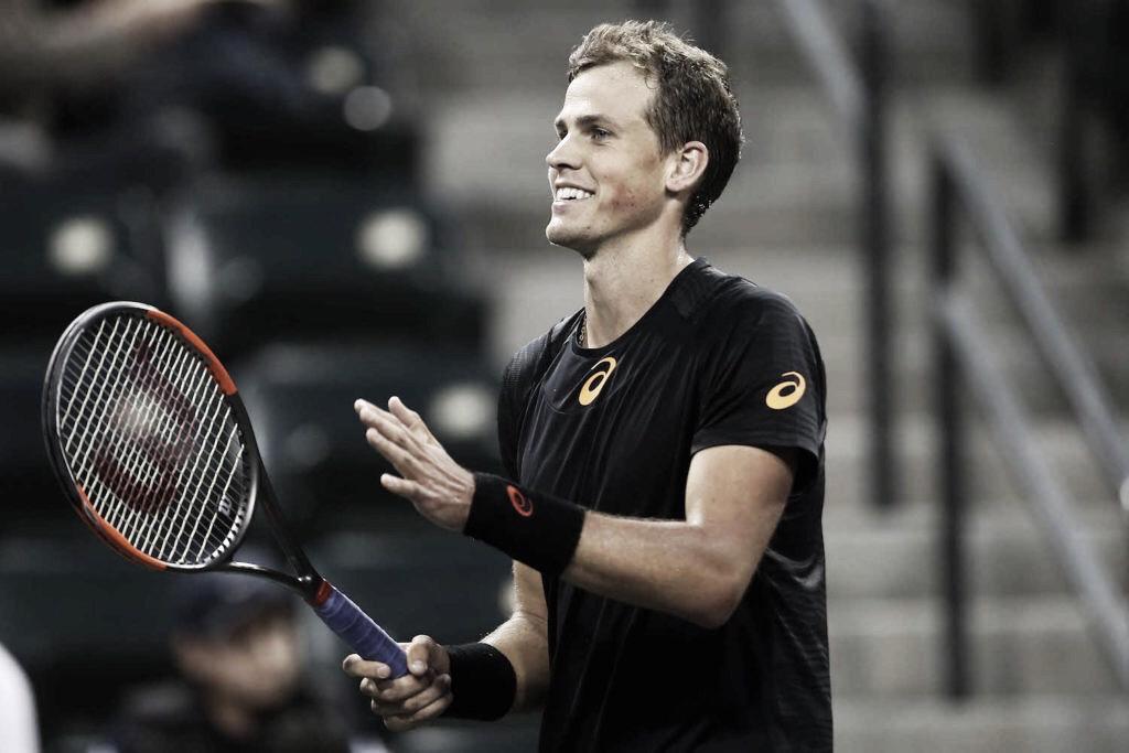 Pospisil surpreende, domina Shapovalov e avança às quartas de final do ATP 250 de Montpellier