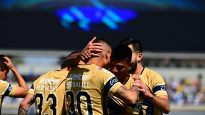 Resultado y goles del Pumas vs Juárez en Copa MX 2018 (3-0)