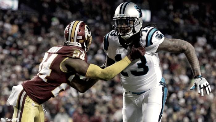 Panthers bate Redskins em Washington e seguem na briga por vaga nos playoffs
