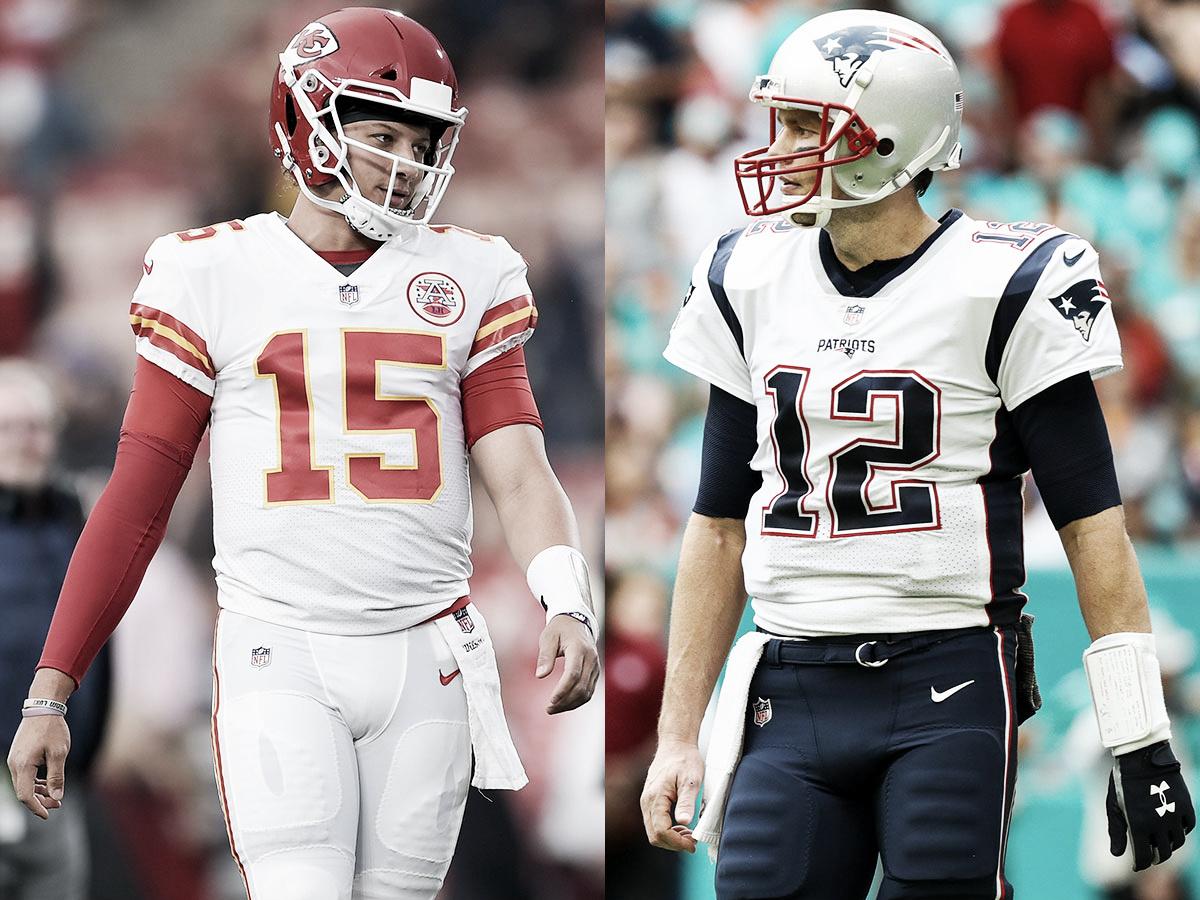 MVP x GOAT: Kansas City Chiefs e New England Patriots lutam pela AFC e uma passagem para Atlanta
