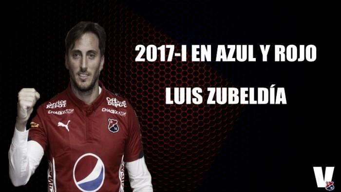 2017-I en azul y rojo: Luis Zubeldía